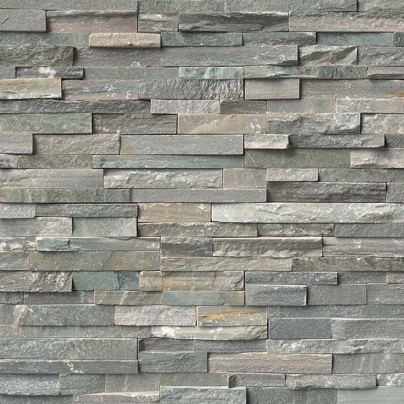 Sierra Blue Rockmount Stacked Stone Panels