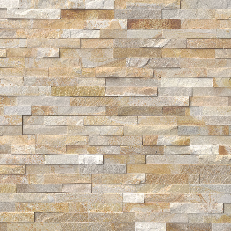 Sparkling Autumn Rockmount Stacked Stone Panels