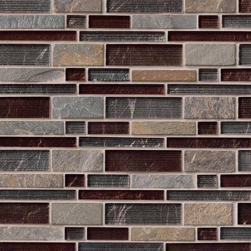 Urbano Blend Interlocking Pattern Tile