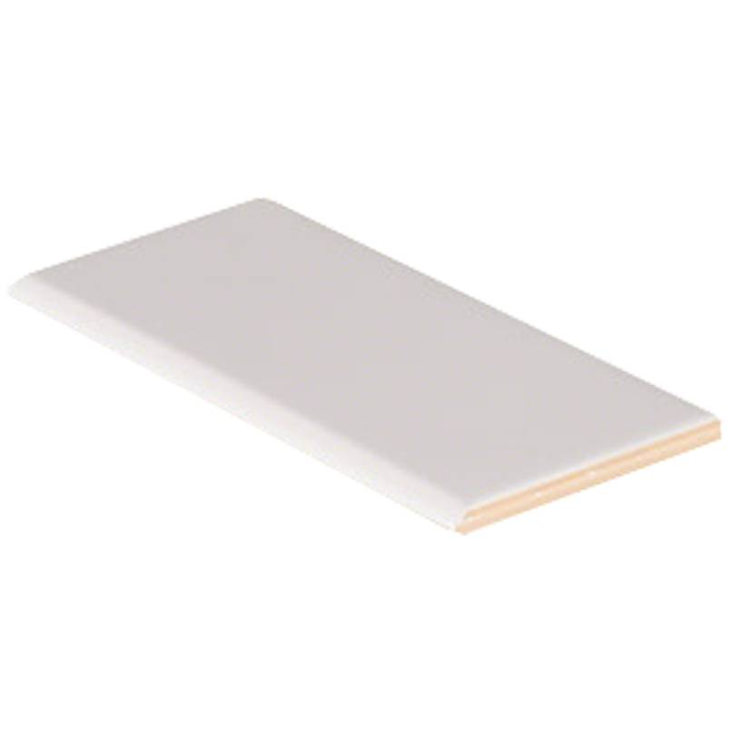 White Single Bullnose 3x6 Subway Tile