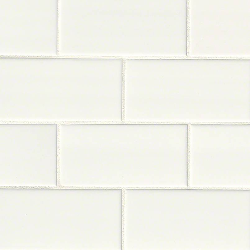 White 3x6 Subway Tile