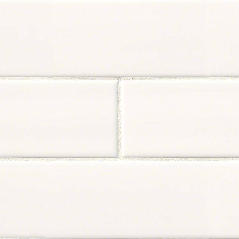 White 4x16 Subway Tile