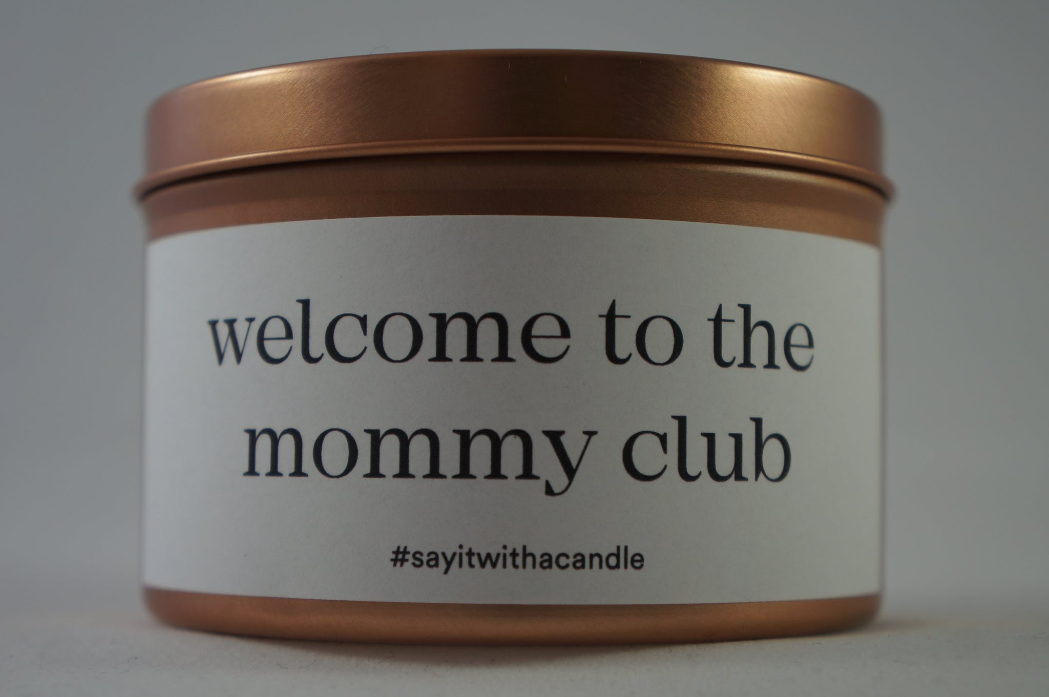 welcome to the mommy club
