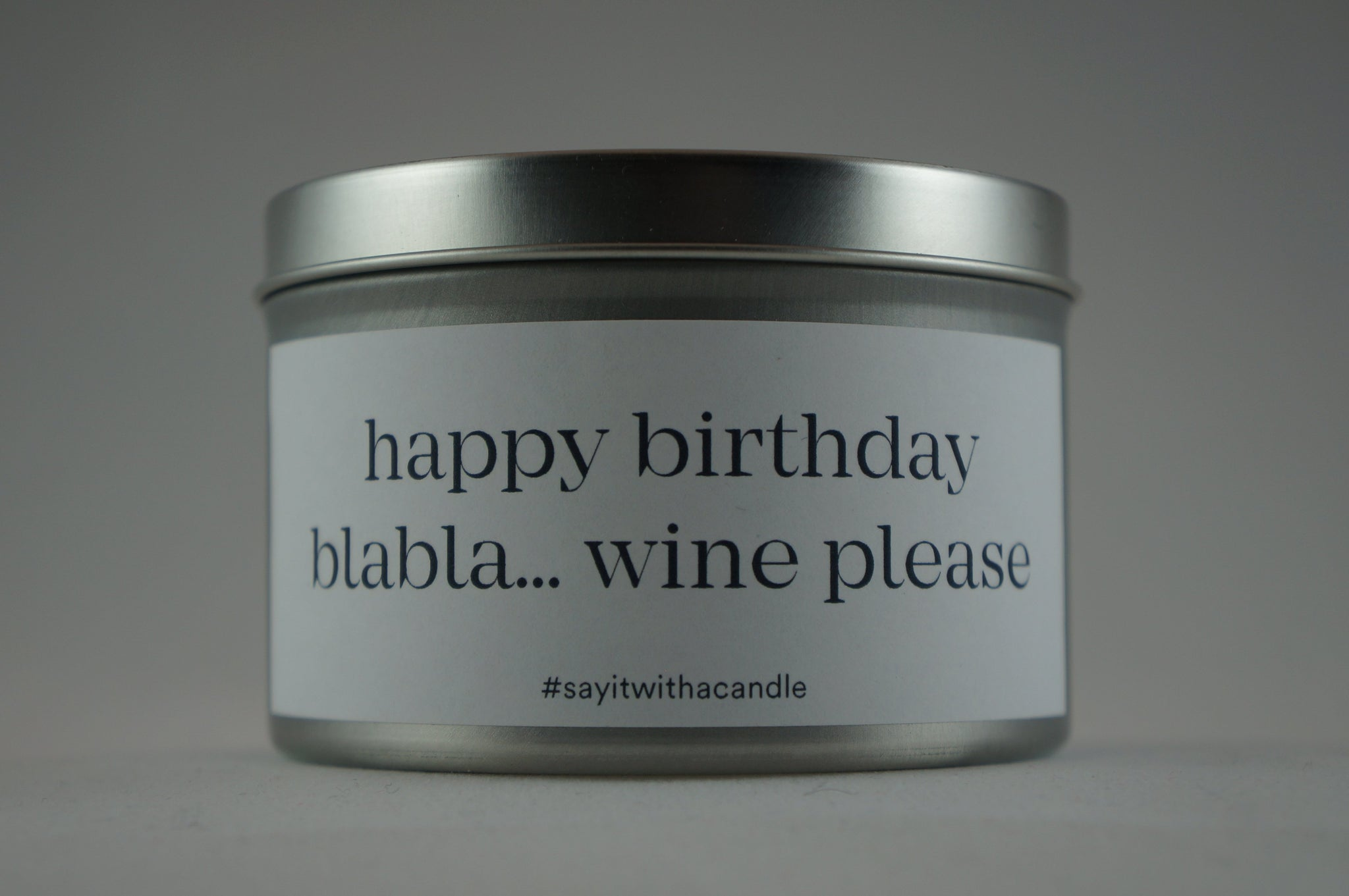 happy birthday blabla... wine please