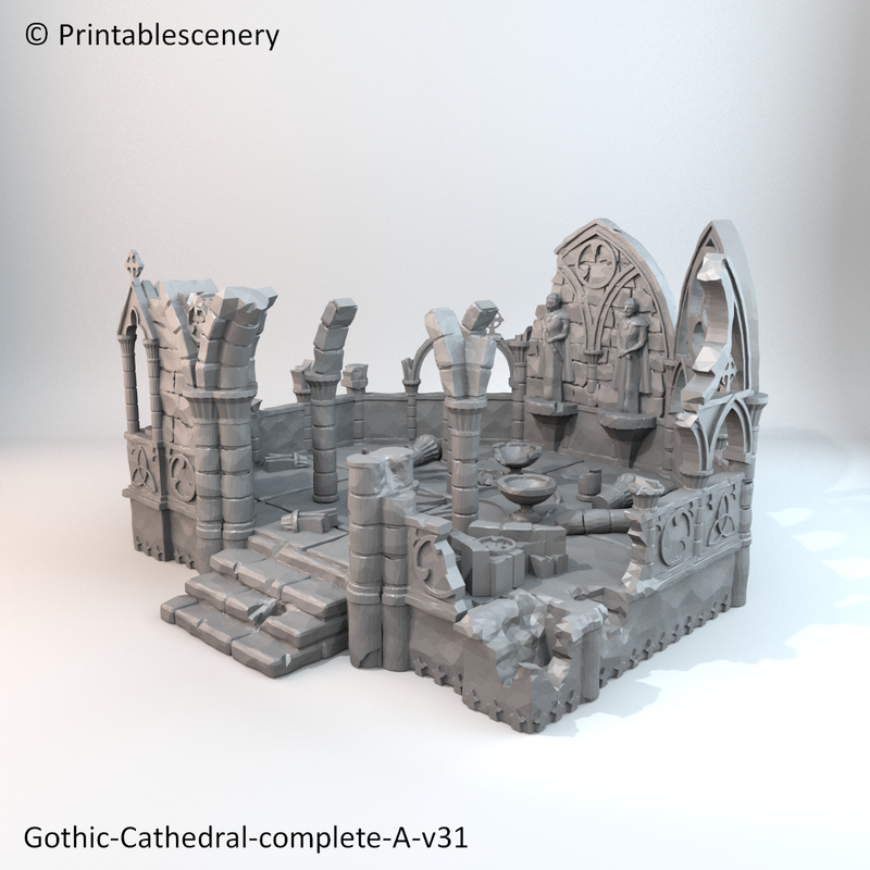 Ruined Gothic Abby