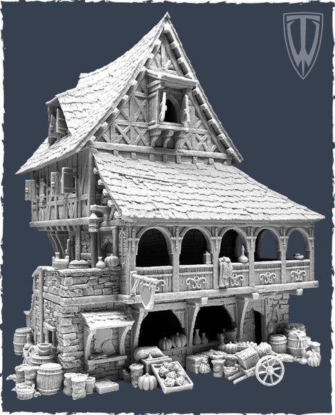 Tabletop World 32mm - Merchant Shop