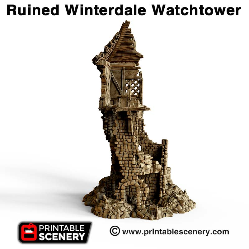 Ruined Winterdale Watchtower