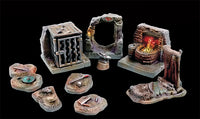 Tablescapes Tiles - Caverns and Mines Orc Warren Set