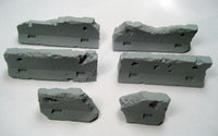 Jersey Barriers Damaged - Set of 5