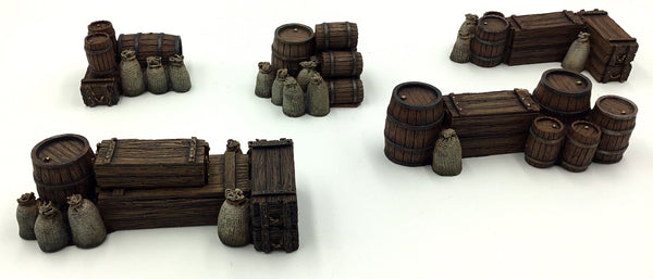 Crates & Barrels Set 1 - 5pc Set