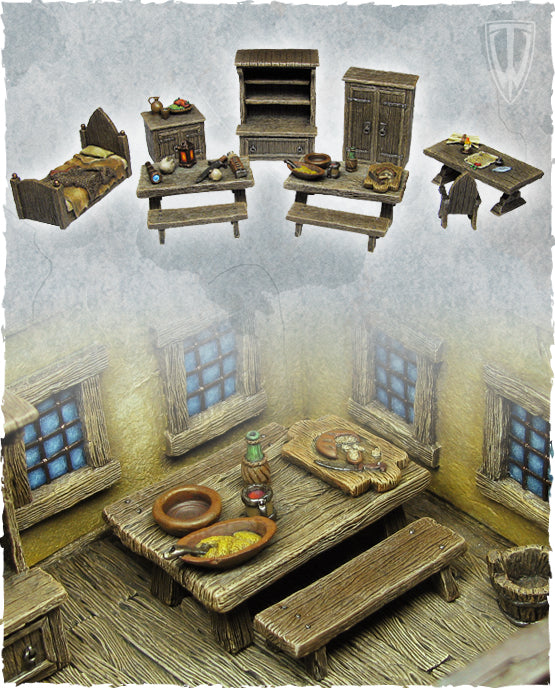 Tabletop World - Furniture