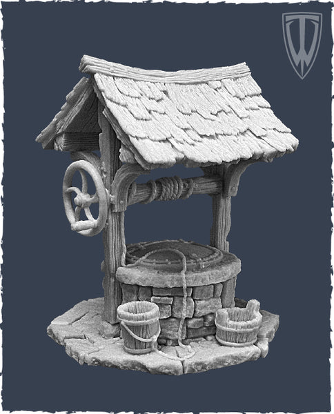 Tabletop World - Water Well