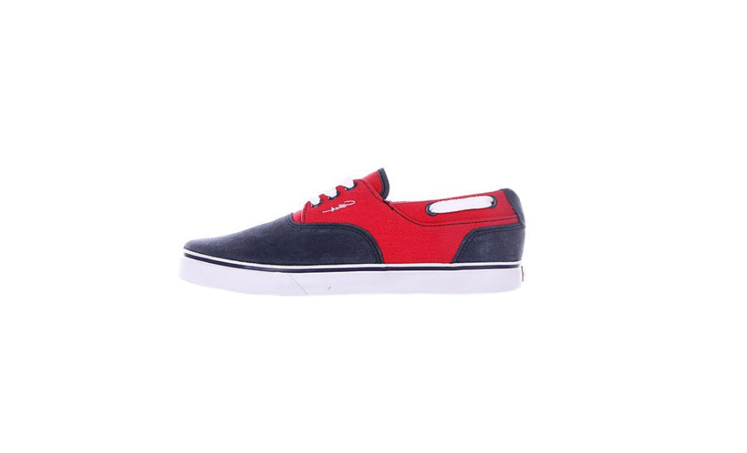 Valeo - Blue/Red Twill (4361775415374)