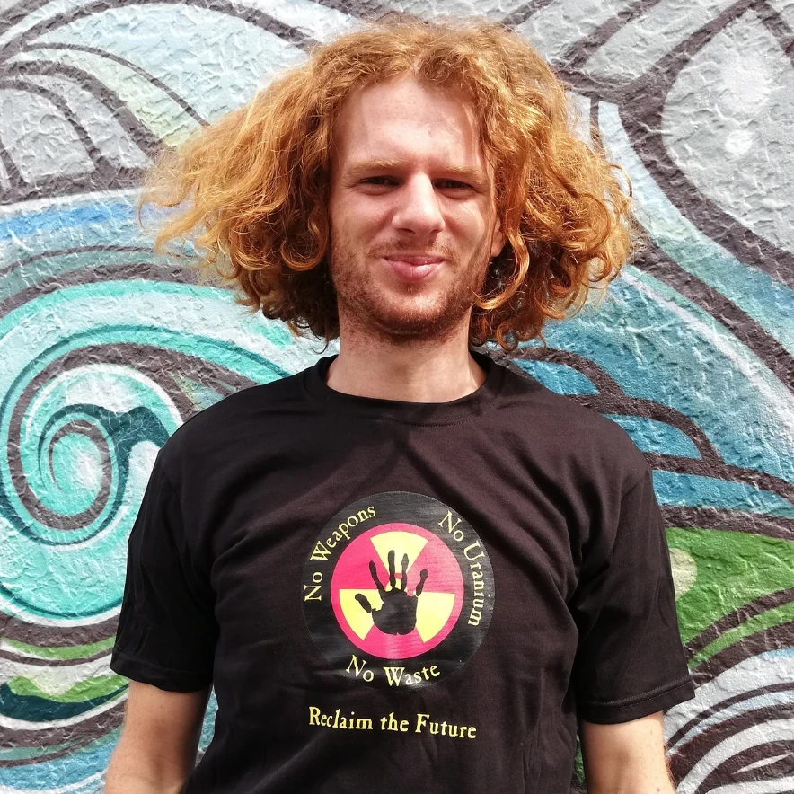 Reclaim the Future Slim Fit T
