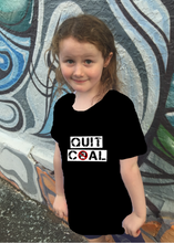 Load image into Gallery viewer, QUIT COAL Kids T