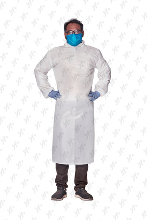 Doctor's Gown [With Velcro] - YES FASHIONS PVT. LTD.