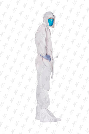 Dealer's Combo YF+ Rakshak [Coverall With Back Zip] Set of 10 Pieces - YES FASHIONS PVT. LTD.