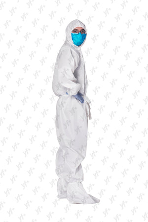 YF+ Rakshak [Coverall With Front Zip] - YES FASHIONS PVT. LTD.