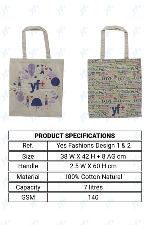 Anti-Virus Washable Bag [Design No.2] - YES FASHIONS PVT. LTD.