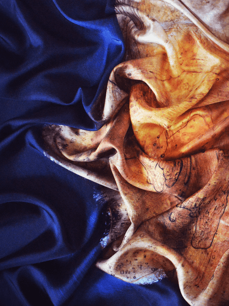 Small Sunset Silk Scarf