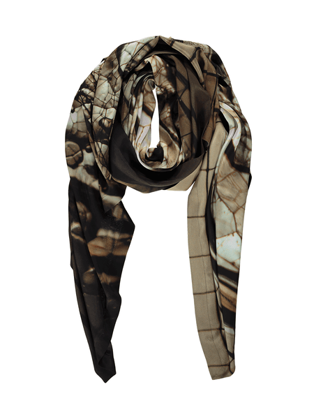 Champagne Hover Silk Scarf