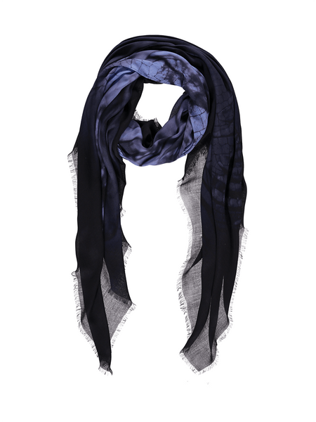 Midnight Blue Hover Modal/Cashmere Scarf