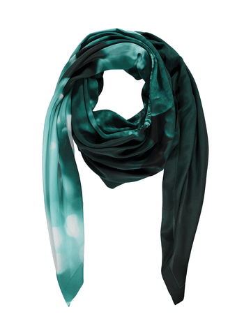 Teal Oasis Purse Scarf
