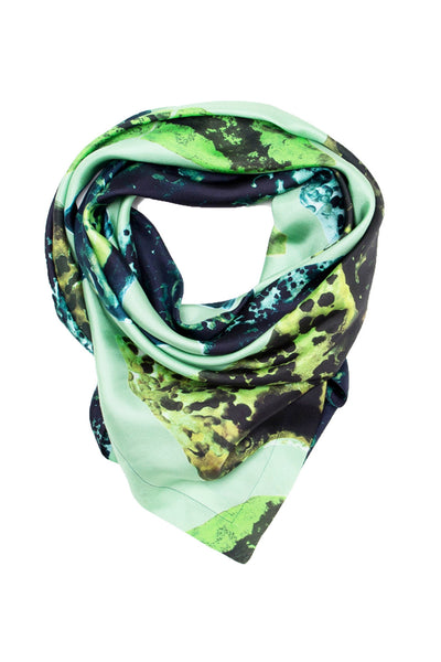 Green Fragments Scarf