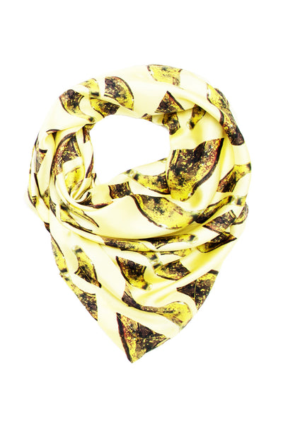 Yellow Fragment Scarf