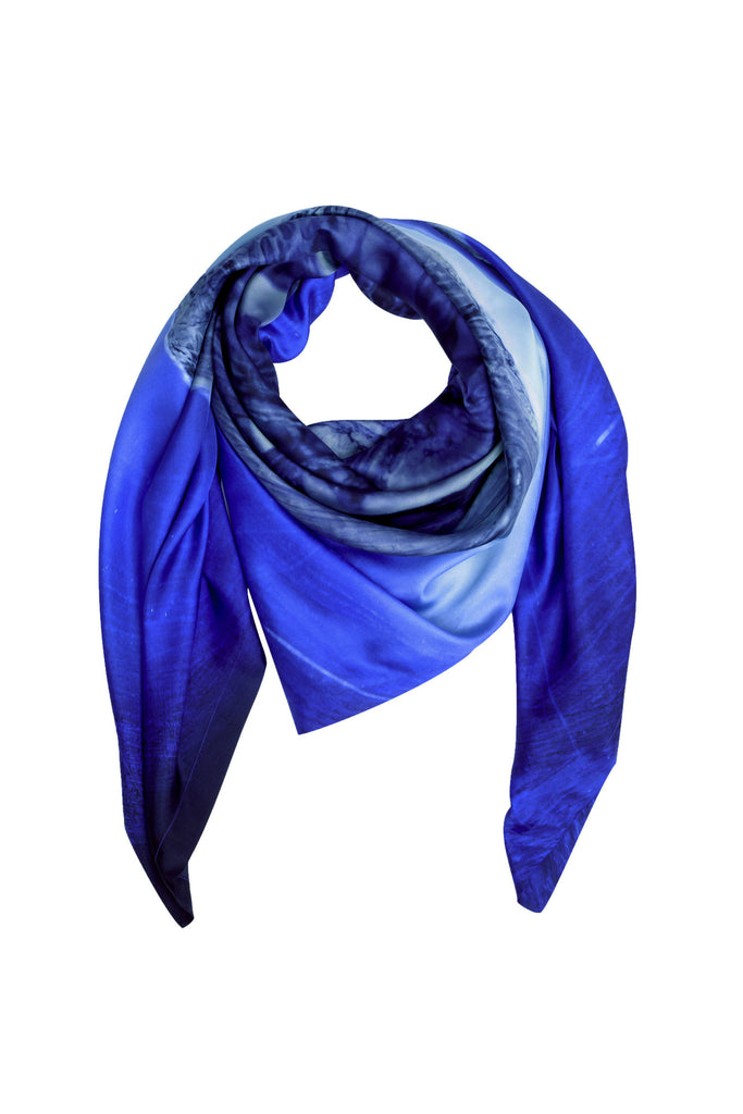 Blue Shard Scarf