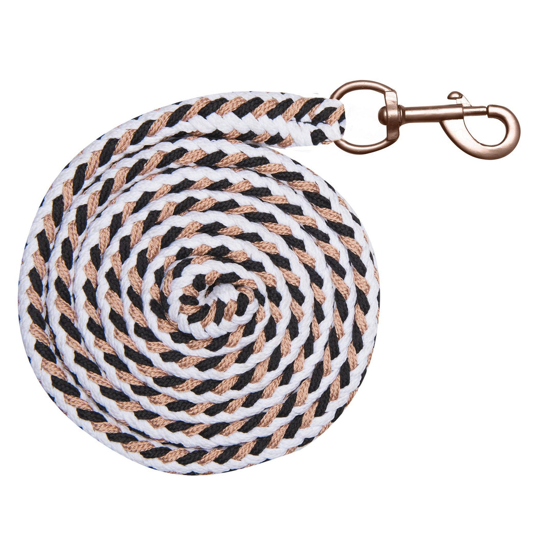 ELT Lead Rope Rose Shine White