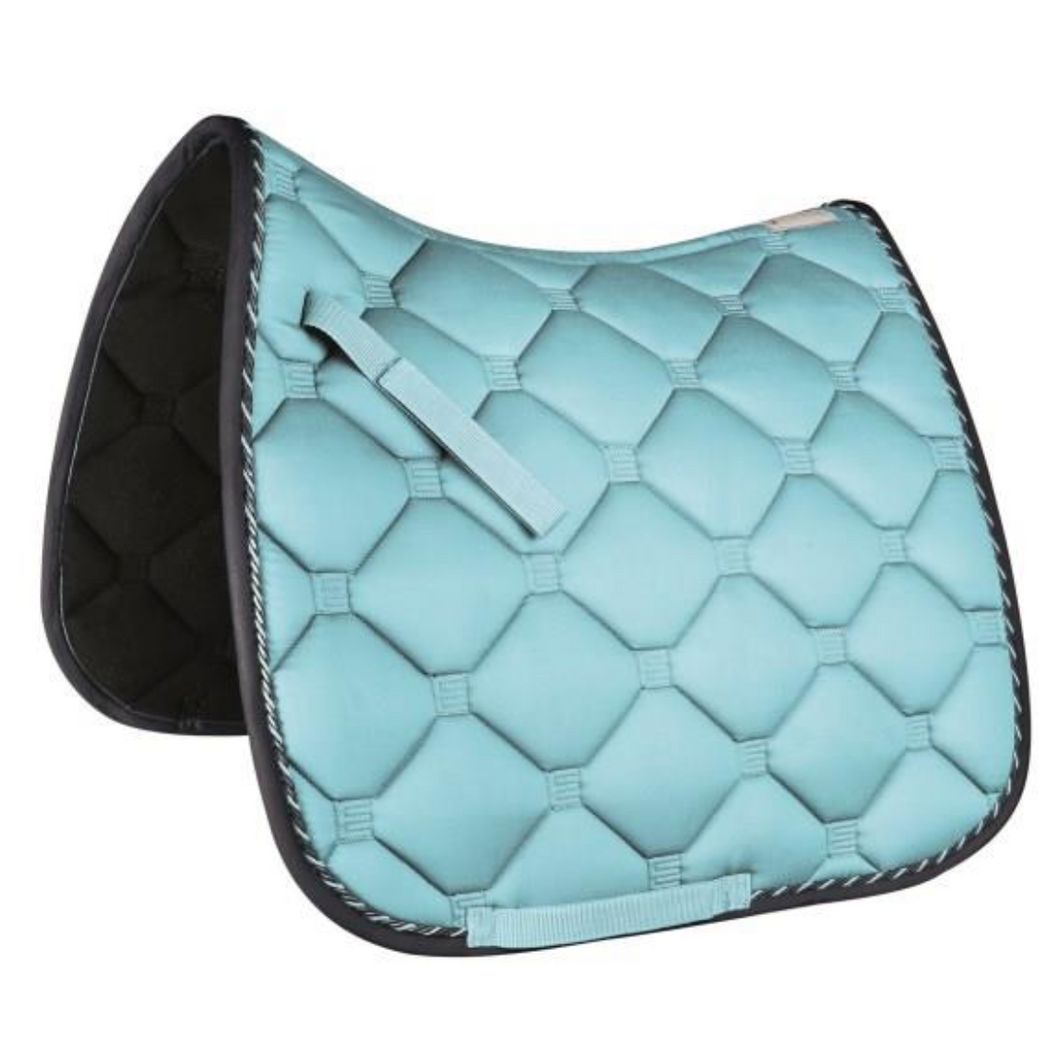Saddle Pad Dressage Esperia Light Blue