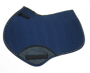 Kieffer Jumping Saddle Pad Navy
