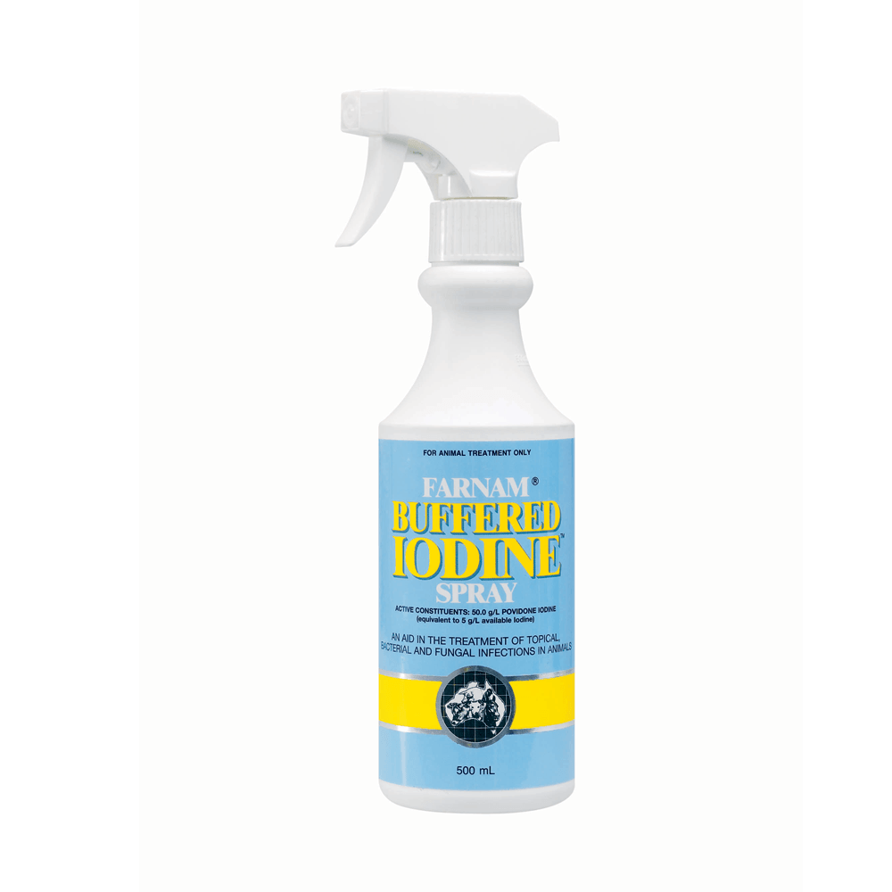 IAH Farnam Buffered Iodine Spray 500ml