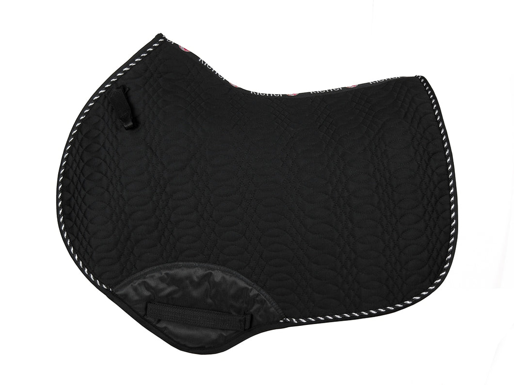 Kieffer Jumping Saddle Pad Black