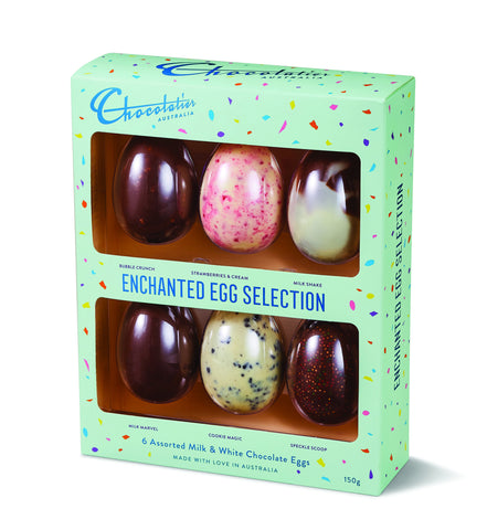 chocolatiers easter egg selections