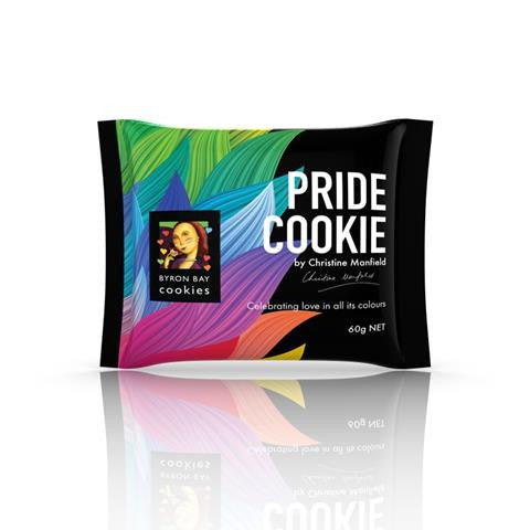 byron bay, pride cookie, limited edition