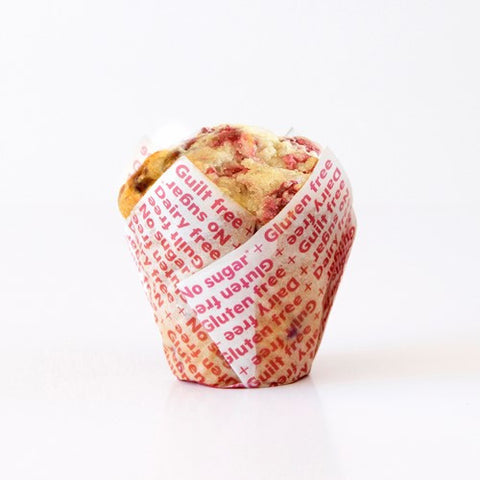 Noshu White Choc Raspberry Muffin