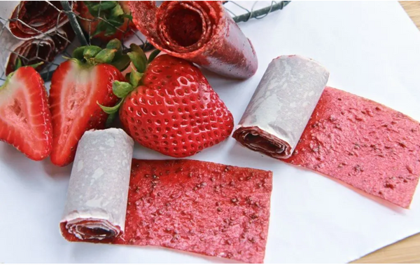 upcycled food - fruit roll ups