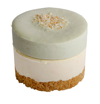 La Creme - Lime and Coconut Individual Cheesecake 120gx6
