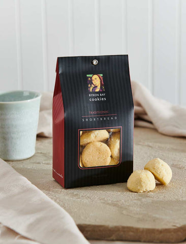 Byron Bay Cookie Company - Classic Gift Bag Traditional Shortbread 150g x 12