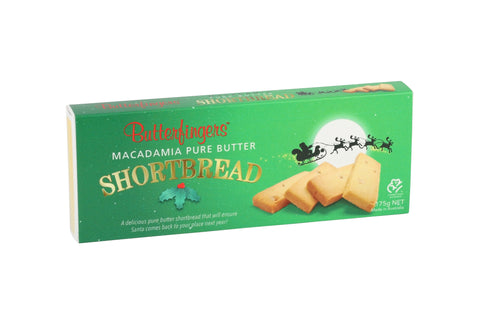 Butterfingers - Macadamia Shortbread Gift Box 175gm x 12