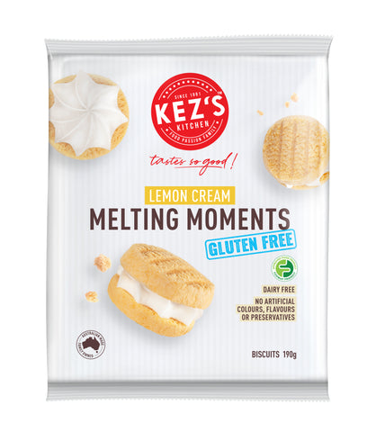 6 x Kez's Retail Pack - Melting Moment Gluten & Dairy Free