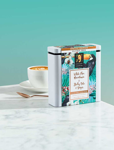Byron Bay Cookie Company - Limited Edition Gift Tin Gluten Free Toucan 200g x 6