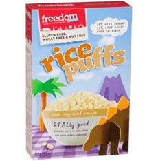 6 x Freedom Foods Rice Puffs 250g Freedom Foods
