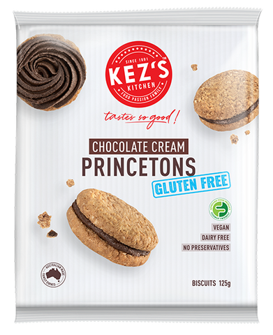 Kez's Kitchen - Chocolate Princetons GF/DF 125gx6