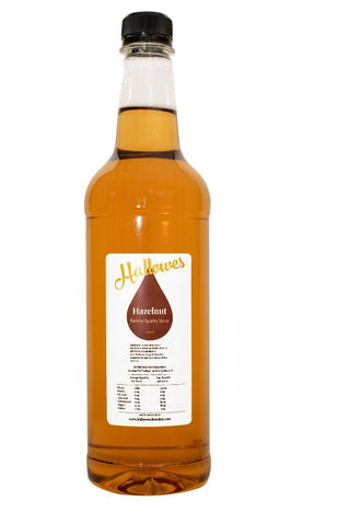 DFT Cafe - 750ml Hazelnut Coffee Syrup