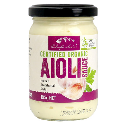 HBC Trading - Organic Aioli Sauce French Traditional Style 185g x 6