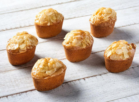 16 x Looma's Gluten Free Friands - Almond Tarts, Cake Slices, Friands Loomas