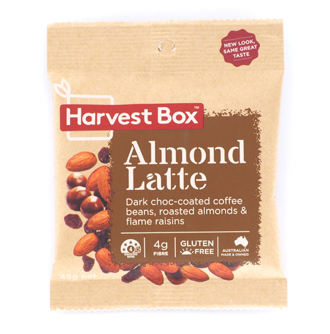 Harvest Box - Almond Latte 10x45g